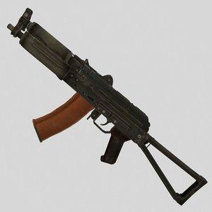 gun weapon 3D