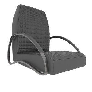 modern armchair dialma brown model