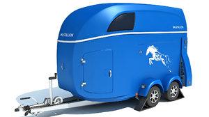 transport trailer 3D model