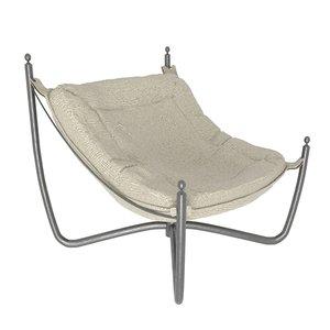 armchair dialma 3D model