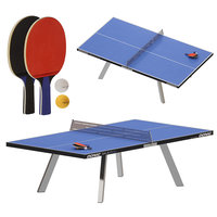 Outdoor ping-pong