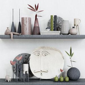 decorative set k1 3D model