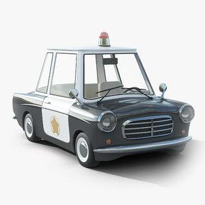 cartoon car toon 3D