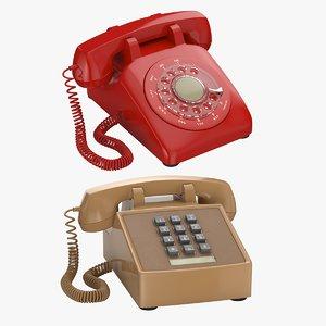 3D 2 retro phones