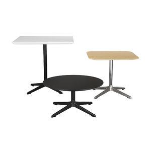 break lounge table 3D model
