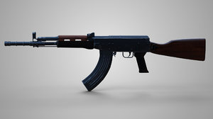 3D military rifle 81