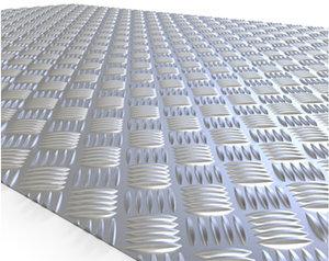 checkered 8 x 4 3D