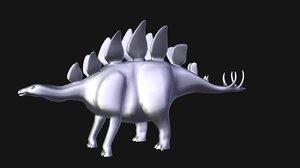 stegosaurus dino 3D model