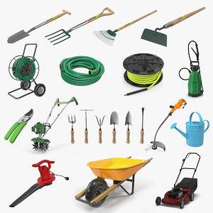 3D garden tools 5 model