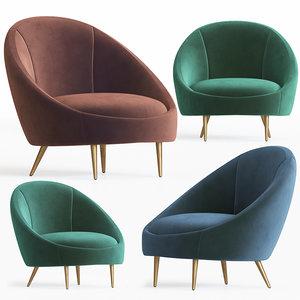 ether armchair 3D