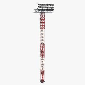 lighting tower 3D model