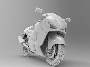 3D suzuki hayabusa gsx1300r