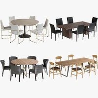 Dining Tables Chairs Collection 3