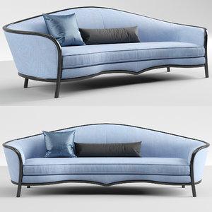 3D altavilla novecento sofa model