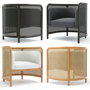 3D accents chairs model