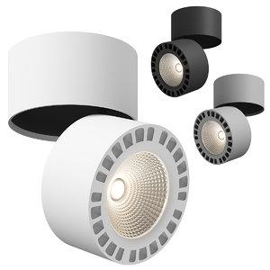 3D model 3813xx forte lightstar ceiling lamp