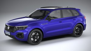volkswagen touareg r 3D model