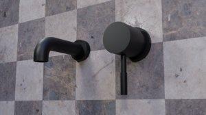 3D watertap bathroom