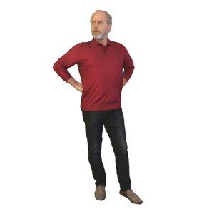 man standing 3D model