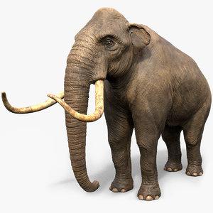 mammoth tusks 3d obj