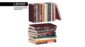 3D literature architectural books
