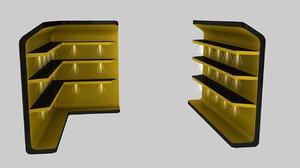 shelf shelves stand 3D