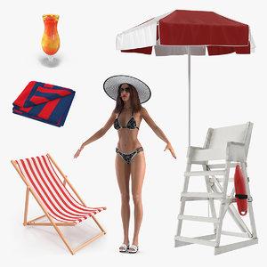beach 4 model
