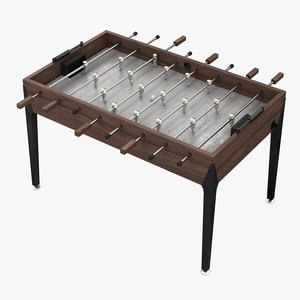 3D foosball table ball