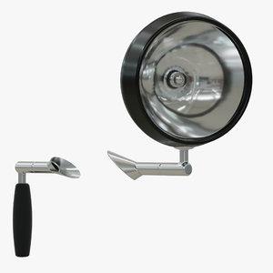 3D vehicle search light led