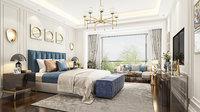 Bedroom neoclassic