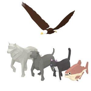 animal pack model