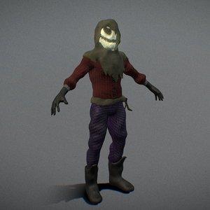 3D human doll
