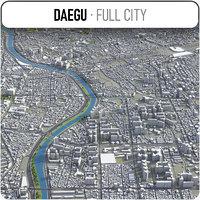Daegu - city and surroundings