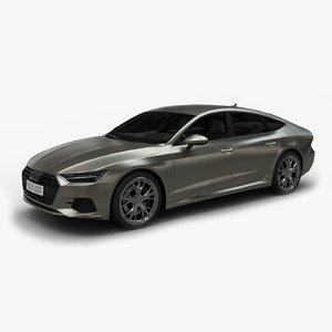 2017 audi a7 sportback 3D model