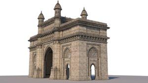 gateway india 3D