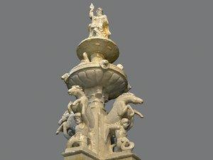 3D classic marble sculpture model