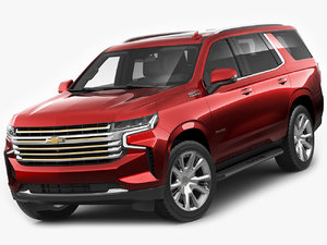3D chevrolet tahoe 2021 model