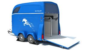 3D transport trailer