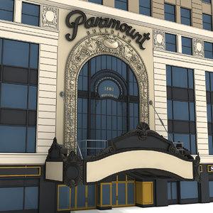 paramount building model