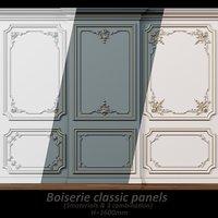 Wall molding 5 Boiserie classic panels