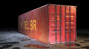 container industrial 3D model