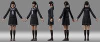 girl student Japanese girl