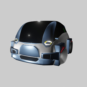 3D compact electric concept styled