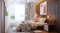 Meditation Relaxing Bedroom