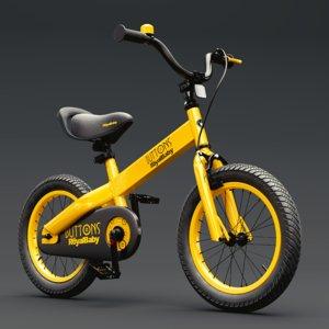 cubetube bmx bike royal 3D