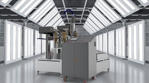axis cnc milling machine 3D