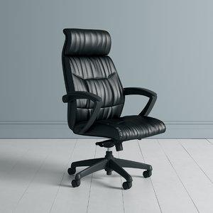 apprentice office chair 3D model
