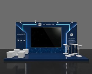 3D booth 6x2