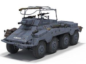 sd kfz 234 3D