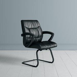 3D apprentice visitors chair